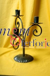020 Wrought Iron Candle Holder and Candlestick