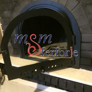 040 Wrought Iron Fireplace Cover Repair