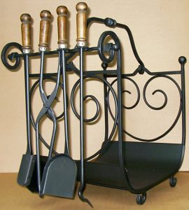 053 Wrought Iron Fireplace Cover Repair