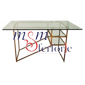 088 Wrought Iron Table Chair Coffee Table