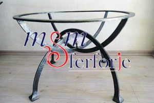 089 Wrought Iron Table Chair Coffee Table