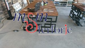 097 Wrought Iron Table Chair Coffee Table