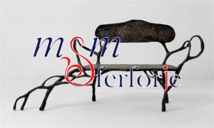 005 Wrought Iron Table Chair Coffee Table