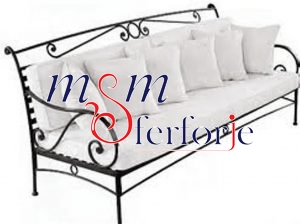 004 Wrought Iron Table Chair Coffee Table
