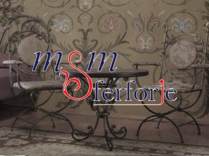 003 Wrought Iron Table Chair Coffee Table