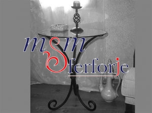 007 Wrought Iron Table Chair Coffee Table