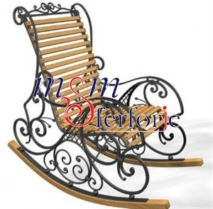 014 Wrought Iron Table Chair Coffee Table
