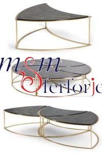 016 Wrought Iron Table Chair Coffee Table