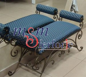 018 Wrought Iron Table Chair Coffee Table