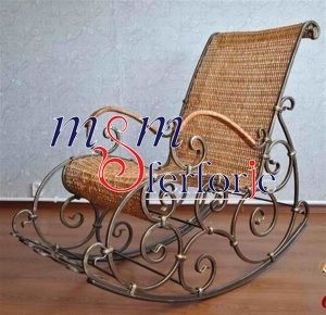 026 Wrought Iron Table Chair Coffee Table