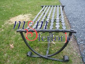 031 Wrought Iron Table Chair Coffee Table