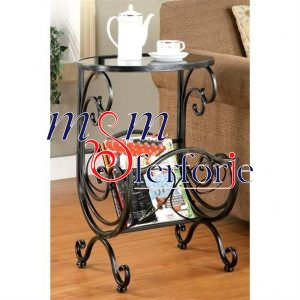 032 Wrought Iron Table Chair Coffee Table