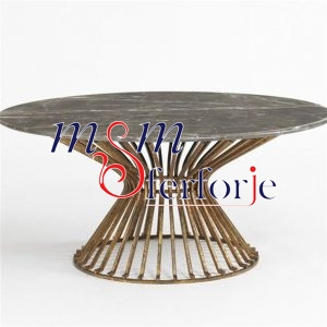 035 Wrought Iron Table Chair Coffee Table