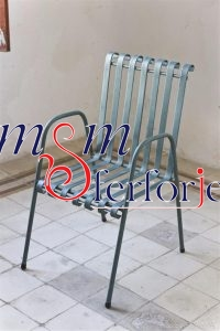 036 Wrought Iron Table Chair Coffee Table