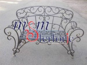 039 Wrought Iron Table Chair Coffee Table