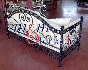 043 Wrought Iron Table Chair Coffee Table