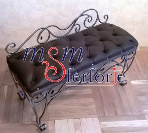 048 Wrought Iron Table Chair Coffee Table