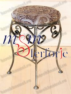 055 Wrought Iron Table Chair Coffee Table