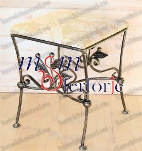057 Wrought Iron Table Chair Coffee Table