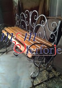 061 Wrought Iron Table Chair Coffee Table