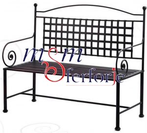 062 Wrought Iron Table Chair Coffee Table