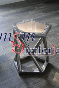 063 Wrought Iron Table Chair Coffee Table