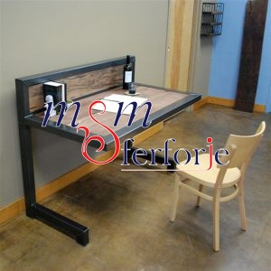 065 Wrought Iron Table Chair Coffee Table