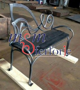 066 Wrought Iron Table Chair Coffee Table