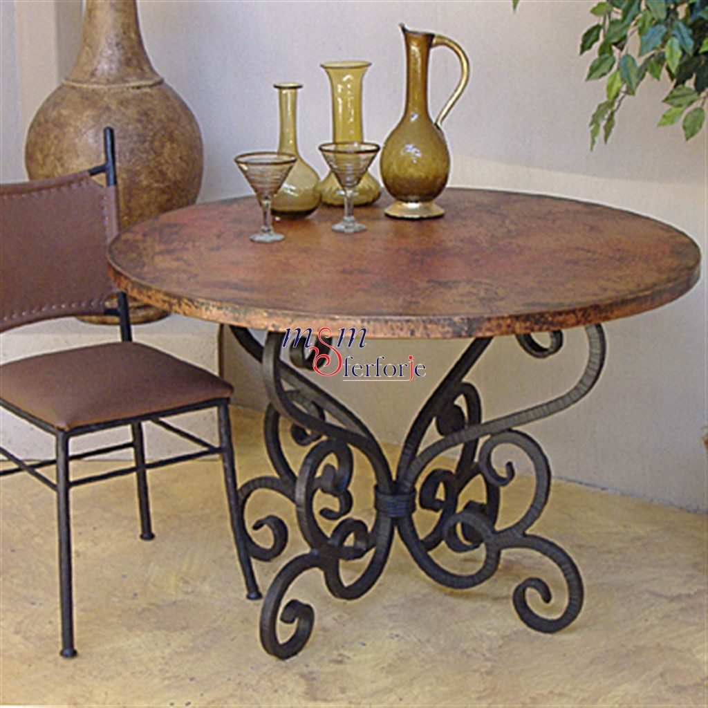 Wrought Iron Table Chairs