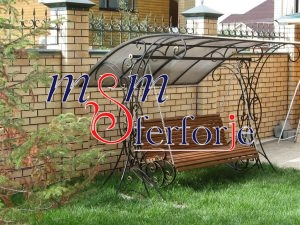 072 Wrought Iron Table Chair Coffee Table