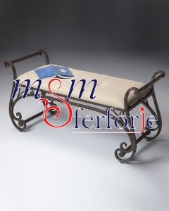 073 Wrought Iron Table Chair Coffee Table