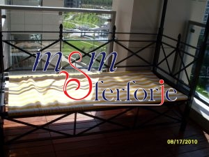 075 Wrought Iron Table Chair Coffee Table