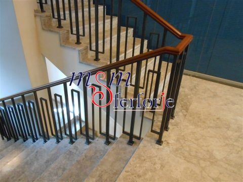 105 Wrought Iron Stair Railing