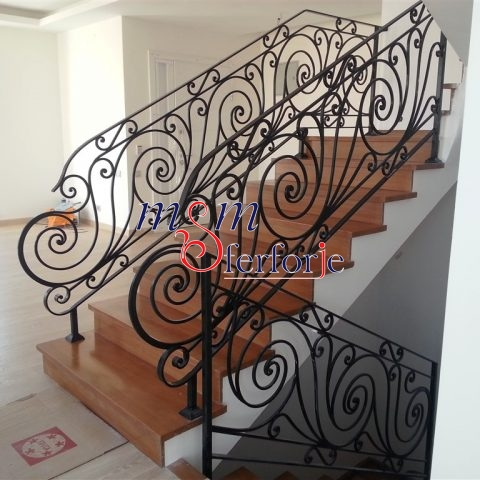 138 Wrought Iron Stair Railing