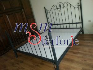 043 Wrought Iron Bed Head