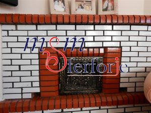 043 Wrought Iron Fireplace Cover Repair