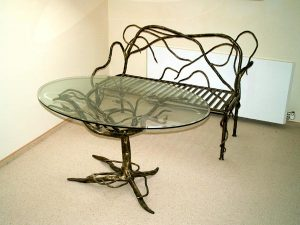 105 Wrought Iron Table Chairs