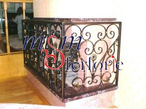 044 Wrought Iron Fireplace Cover Repair
