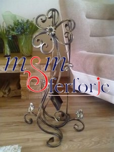 009 Wrought Iron Fireplace Cover Set