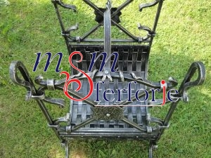 020 Wrought Iron Fireplace Cover Set
