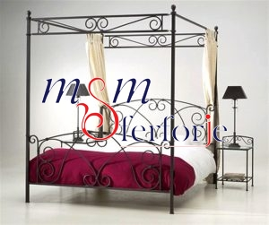 009 Wrought Iron Bed Head