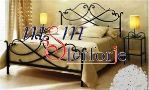 041 Wrought Iron Bed Head