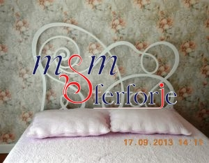 030 Wrought Iron Bed Head