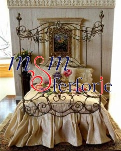 035 Wrought Iron Bed Head