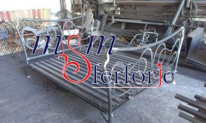 036 Wrought Iron Bed Head