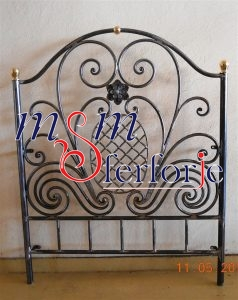 037 Wrought Iron Bed Head