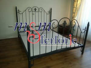 029 Wrought Iron Bed Head