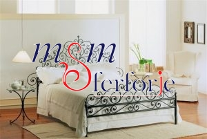 027 Wrought Iron Bed Head