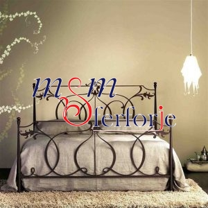 026 Wrought Iron Bed Head
