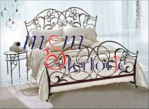 023 Wrought Iron Bed Head